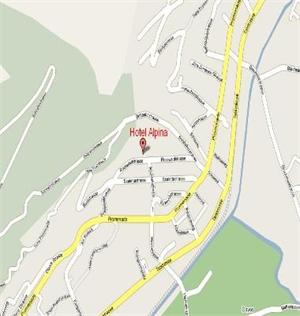 Davos dorf piste map